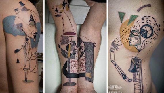 disegnare tattoo online